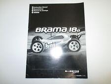 HPI 1/18 Brama 18B Buggy Instruction Manual Book ONLY OZ RC Models