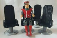 For Captain Scarlet 4inch (100mm) figures. 4x conference chairs.  3D printed.