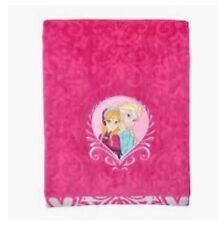 "Frozen Bath Beach Towel 27"" x 50� Elsa & Anna Sisters Disney Pink Bath Pool"