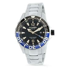 New Mens Giantto GM3 Diver Automatic Sapphire Crystal 46mm Blue/Back Watch