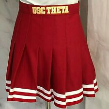 Kappa Alpha Theta Cheerleading Skirt University of Southern California USC XS