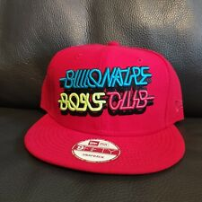 New Era 9Fifty Billionaires Boys Club Red Snapback One Size Fits Most Hat Cap