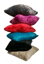 "18"" Mink Faux Throw Warm Fleece Cushion Case Covers Soft Filled Decorative Pads"