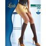 Levante Collant Donna Maxi 50 DEN Calze Gambaletto Taglie conformate (2 paia)