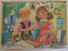 DDR Original Annaberger Puzzle, Im Maßatelier, 300 Teile, OVP RAR!** Selten**!