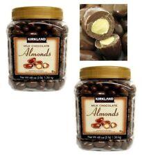 Kirkland Signature Milk Chocolate Almonds 3 Lbs - 2 Pack