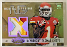 2014 PANINI CERTIFIED FOOTBALL De'ANTHONY THOMAS ROOKIE PATCH #'d /49    C3
