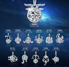 Luxury 12 Constellations Pendants Charms Silver & Zodiac Sign wedding No chain