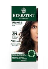 HERBATINT HERBAL NATURAL HAIR COLOUR DYE DARK CHESTNUT 3N 150ml - AMMONIA FREE