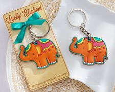 """""""Lucky Elephant"""" Key Chain Key Ring Wedding Favor Reception Gift Party Good Luck"""