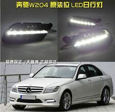 2x LED daytime running light DRL fog lamp cover for BENZ W204 C250 C300 (Sporty)