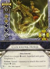 Warhammer Invasion - 2x Clockwork Horse  #023