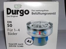 Durgo Abwasser Belüftungsventil DN 50 bis 4 Bäder Belüfter Abwasser Luftziegel