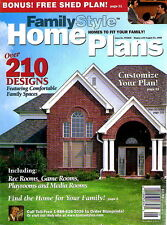 Family Style Home Plans Over 210 Designs 1998 SC