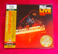 Billy Preston Live European Tour SHM MINI LP CD JAPAN UICY-93458