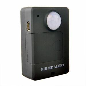 Allarme GSM con sensore di movimento PIR GSM A9 Nero con alimentazione