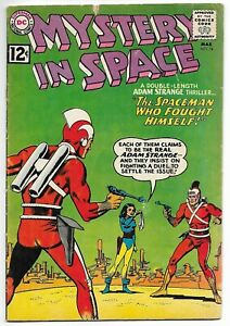 Mystery in Space #74 (DC, 1962) – Adam Strange – Star Rovers – VG-