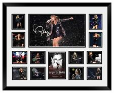 TAYLOR SWIFT 2018 REPUTATION TOUR SIGNED LIMITED EDITION FRAMED MEMORABILIA #3