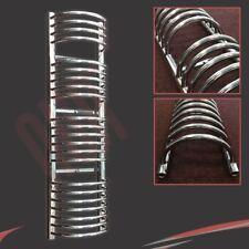 "300mm(w) x 1600mm(h) ""Buckley"" Chrome Heated Towel Rail Warmer Radiator 2314BTUs"