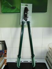 homebase geared bypass lopper h75x w23 x d3cm item is new