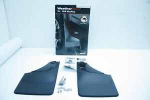 WeatherTech 04-07 Ford F150 Reg/Sup/CrewCab No Drill Mudflaps - Black 120002