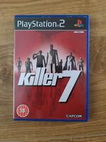 Killer 7 PS2 Game Capcom Complete With Manual - Free P&P