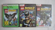 Lego Batman - DC Super Heroes - Beyond Gotham PC Spiele Sammlung - DVD Rom - Neu