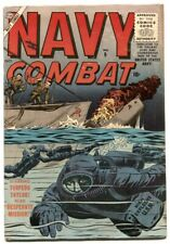 Navy Combat #9 1956-Torpedo Taylor- Atlas war comic VG