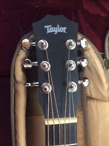 Taylor BT1 Electro Acoustic Guitar With Case.