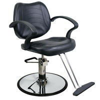 Barber Beauty Salon Equipment Hydraulic Hair Styling Chair SC-21BLK