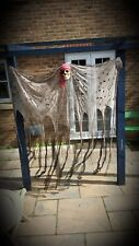 HUGE Hanging Skull Pirate 6ft Halloween Decoration Prop Creepy Cloth Props