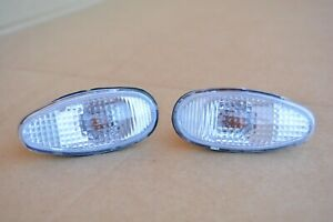 91-99 Mitsubishi 3000GT, GTO, Dodge Stealth Side Wing Fender Clear Turn Signals