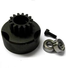 HS521015 1/10 RC Nitro Engine Vent Clutch Bell Housing 15T 15 Teeth + Bearings