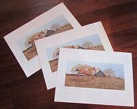 "Lot 3 Ancel E. Nunn ""Equine Gilded"" 1982 Art Print 22""x15.5"" Horse Country Theme"