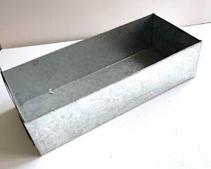 2x Bosch Metallschieber Kasten Kiste Schublade Lagerbox Lagerkiste Metallbox