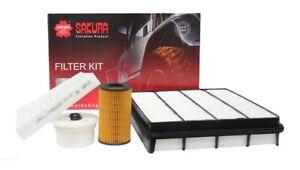 Filter kit For Toyota LANDCRUISER VDJ200R 4.5L 1VDFTV Service kit