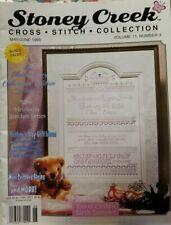 Stoney Creek Cross Stitch Collection Magazine May/June 1999
