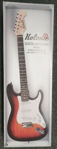KOLONIE ST STYLE ELECTRIC GUITAR STARTER PACK - RED - NEW