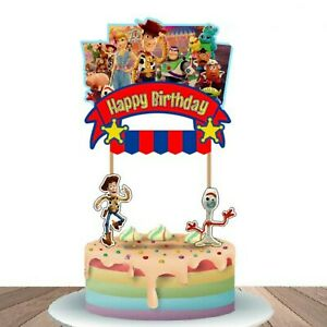 Toy Story  Family Birthday Cake Topper Cupcake Toppers Decoration Picks