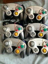 Official Nintendo Gamecube Silver Controller Pad Tested Working x 1 pad