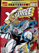 X-FORCE - Annual n°1 1992  ed. Marvel Comics  [G.218]