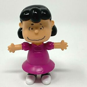 Peanuts LUCY Bendable Figure 4 inch NEW In Open  Package PE2802 Toy