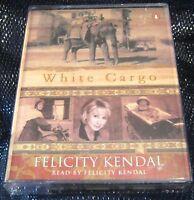 White Cargo Felicity Kendal read by Felicity Kendal  2x audio Casettes