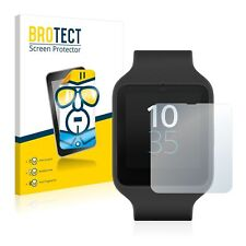 Sony Smartwatch 3 SWR50,  2 x BROTECT® HD-Clear Screen Protector, hard-coated
