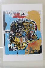 "JEAN-MICHEL BASQUIAT: ""SKULL"" 1981, rare Art-Postcard  NEW"