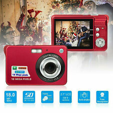 Digital camera 1080P 18MP digital zoom 2.7 inch TFT LCD screen CMOS sensor