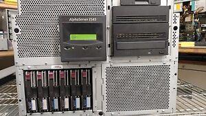 HP Alphaserver ES45 Model 2B System DH-68EBA-AA Server (4) 1.25GHz, 4GB RAM