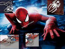 Marvel Spiderman Necklace Steel Locket Super Hero Pendant For Men & Women GIFT