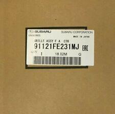Genuine OEM Subaru 91121FE231MJ Center Grille Crystal Grey 2006-2007 Impreza