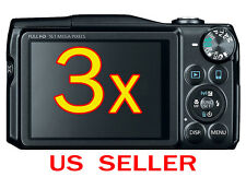 3x Clear LCD Screen Protector Guard Cover Film For Canon PowerShot SX720 HS
